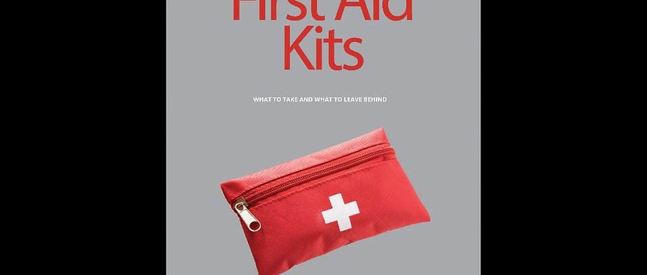 8 Page First Aid Kit Guide and Checklist