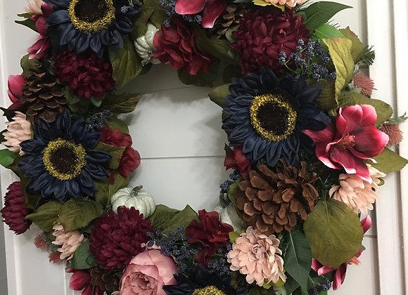 Fall Compact Wreath