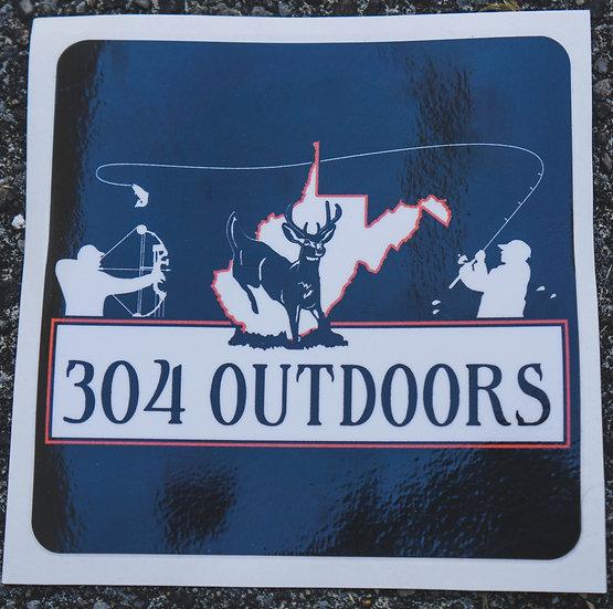 304 Logo Decal
