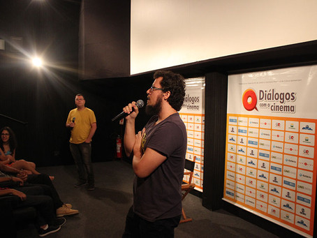 """Diálogos com o Cinema. Sessão seguida de debate com o filme """"Tempo de Projeção"""""""