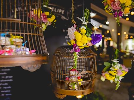 Detalhes importantes para pensar a decoração da festa do seu casamento