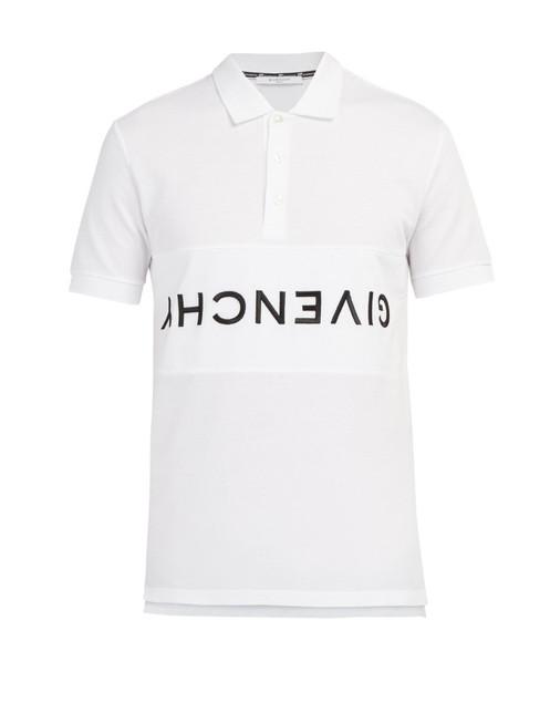 b9fb1a220 Givenchy Logo Polo Shirt -SOURCING