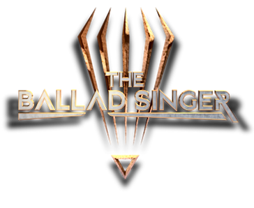 The ballad singer logo