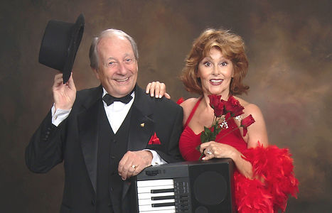 Pam Wineapple, Featured Vocalist (Veteran Broadway Pro) and Rob BonGiovanni, Producer and Musical Director of The Sound Investment.