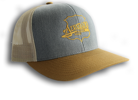 Gold/ Gray ARS Logo Snapback Hat w/ Gold Stitch