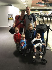 Howard family arriving with Patrick.JPG