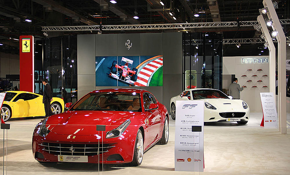 Ferrari, Top Marques Macao