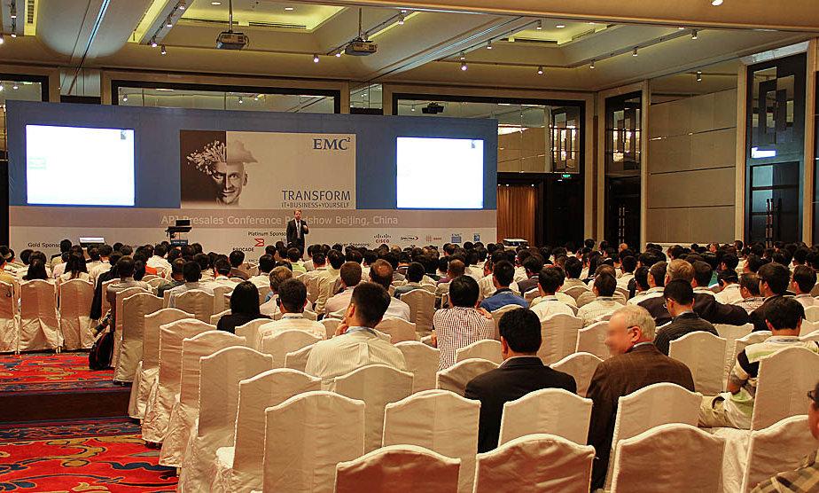 EMC APJ Presales Conference, Beijing