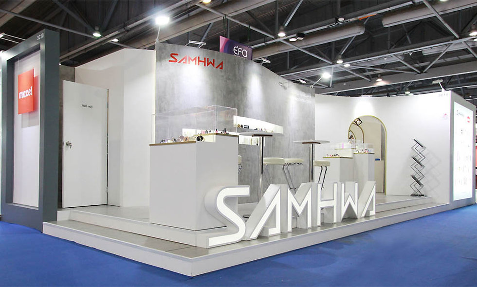 Samhwa, Cosmoprof Asia Hong Kong