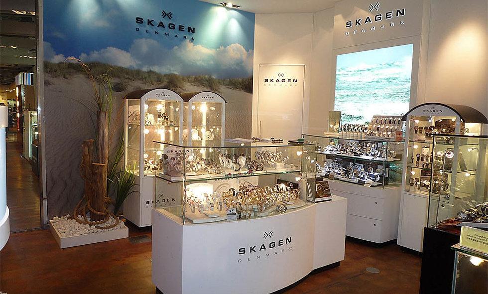 Skagen Shop-in-shop, Hong Kong