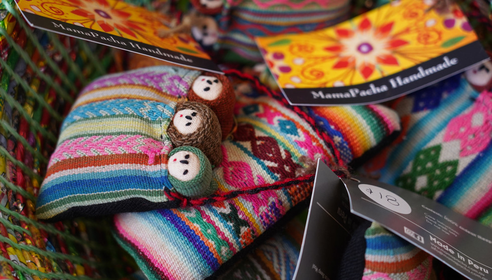 Mamapacha's handmade products
