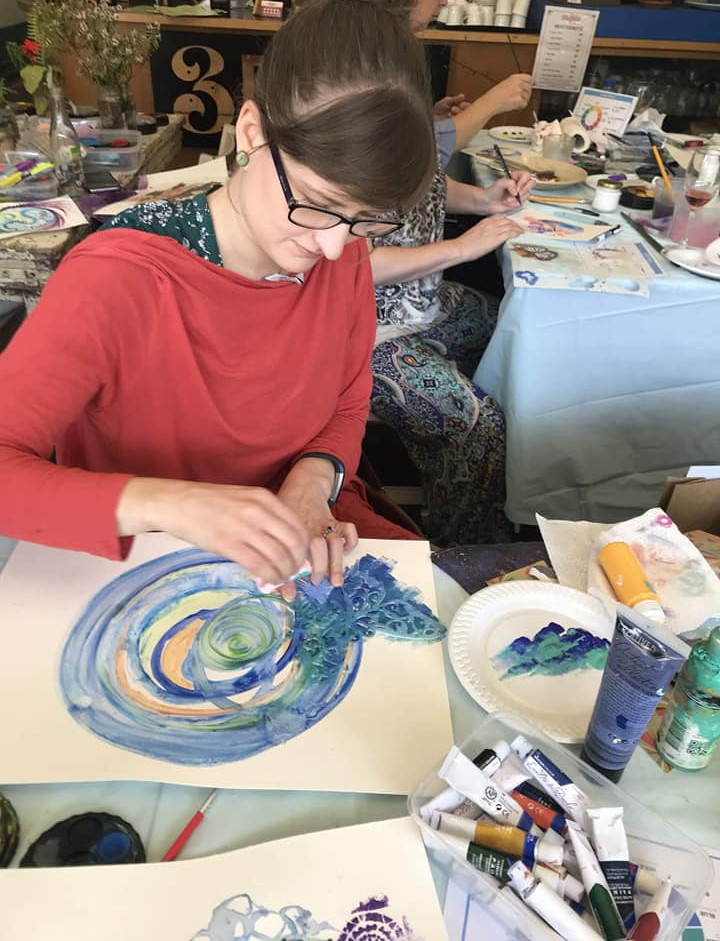 Cheryle Bannon's Mandala workshop at Lentil As Anything