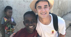 Seton student is a missionary wherever he goes