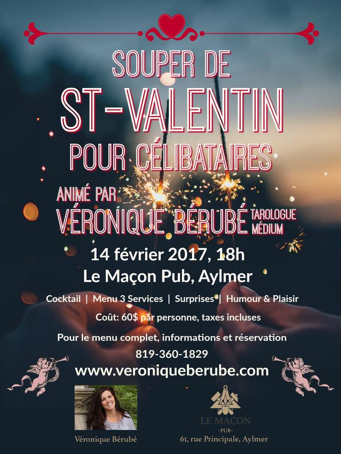 Célibataires, préparez-vous à célébrer la  St-Valentin en grand!