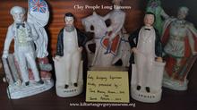 Breakfast Room Coole Park - Porcelain Figurines
