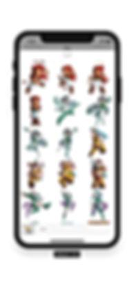 Les Légendaires Stickers