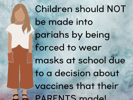 CDC Ruling...School Children and Masks