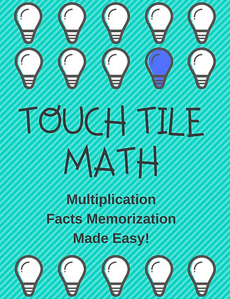 TouchTile Math Multiplication Facts