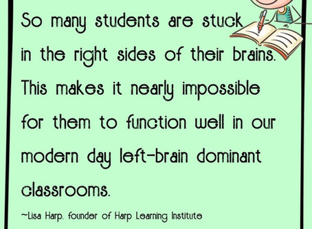 Right Brain Learning…