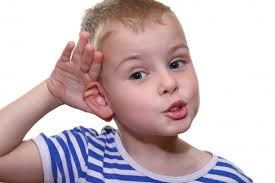 boy listening
