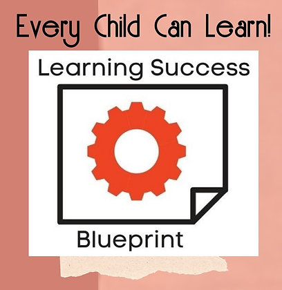 Learning Success Blueprint