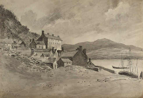 The Quay in 1795 by John BaptistMalchair.jpg