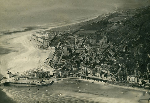 Barmouth from the air c1920