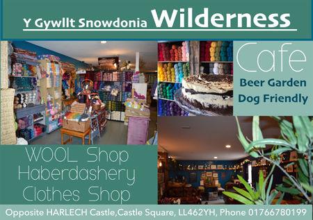Wilderness Cafe Harlech