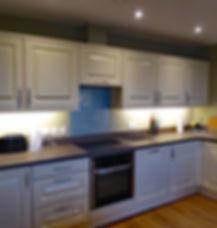 Derwen kitchen, Bryn Melyn Apartments