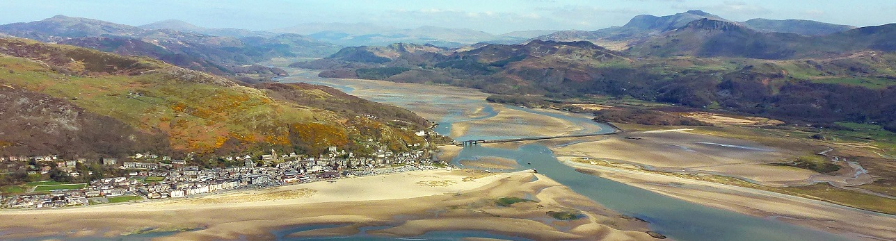 Barmouth and the Mawddach Estuary