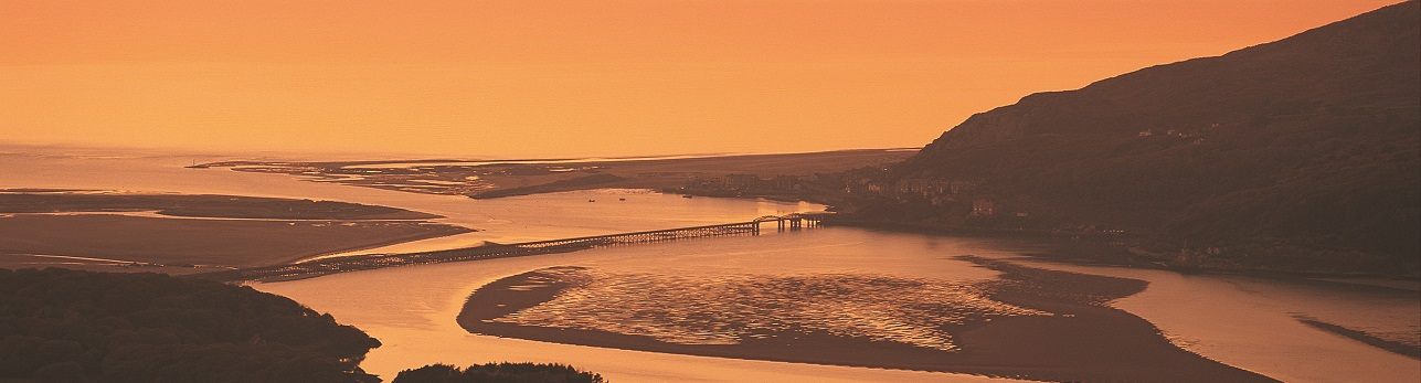 Sunset over Barmouth