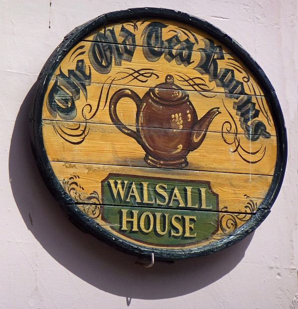 Walsall House Sign