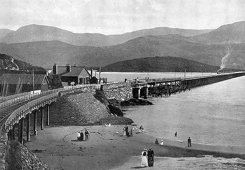 Barmouth Bridge 1880s