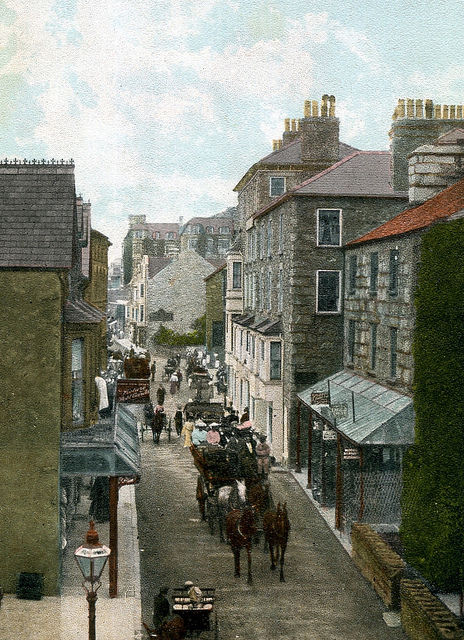 Barmouth High Street 1910
