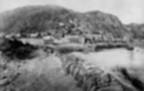 Barmouth Quay and Rock 1869