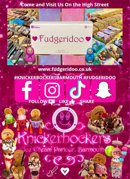 Knickerbockers and Fudgeridoo Barmouth