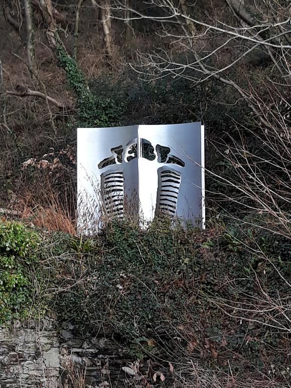 Trilobite sculpture