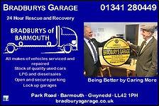 Bradburys Garage Barmouth