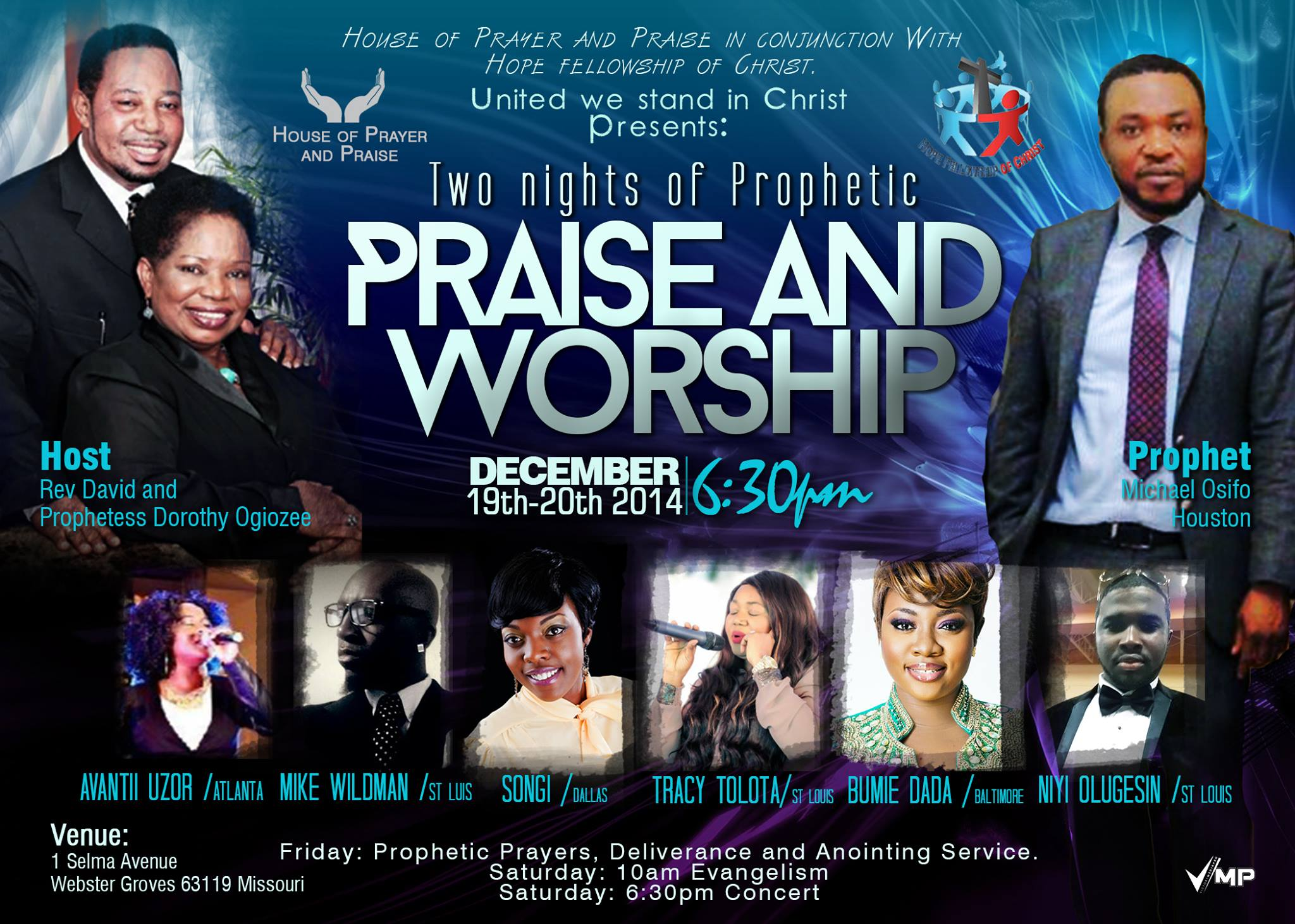 Praise and Worship, ST Louis