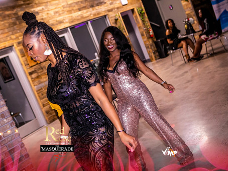 DJExpression's Sexy Red Rose Masquerade Party Was A Night to Remember