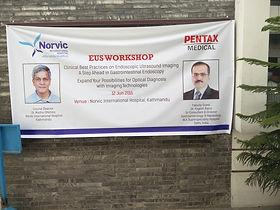 EUS Workshop in Nepal