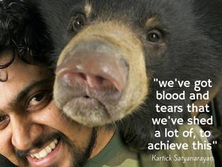 Kartick Satyanarayan-Helping Sloth Bears Dance To Freedom