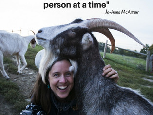 Jo-Anne McArthur-A Life-long Dedication to WeAnimals