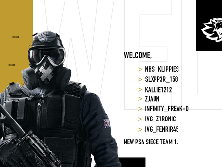 Our New PS4 R6 Team