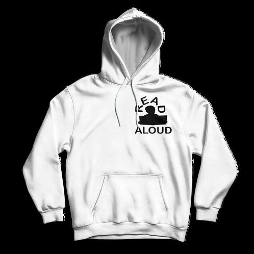 ReadAloud White Hoddie