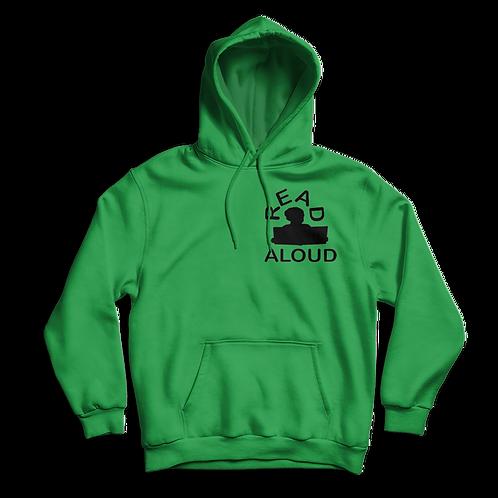 ReadAloud Green Hoddie