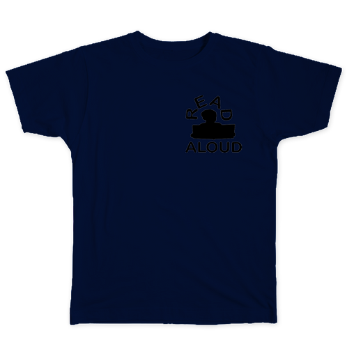 ReadAloud Navy Blue T-Shirt