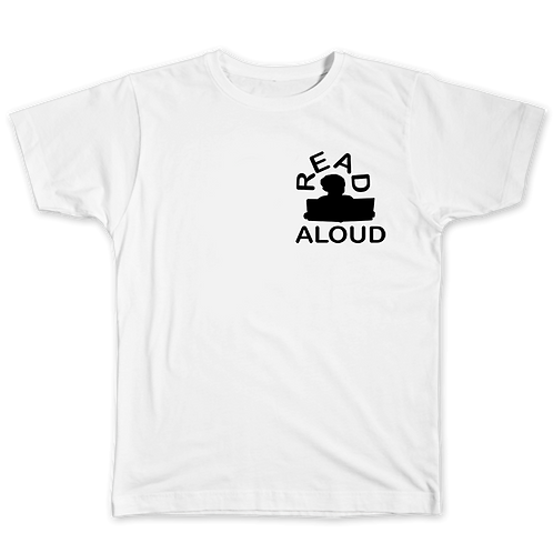 ReadAloud White T-Shirt