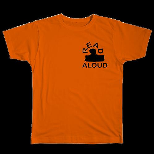 ReadAloud Orange T-Shirt