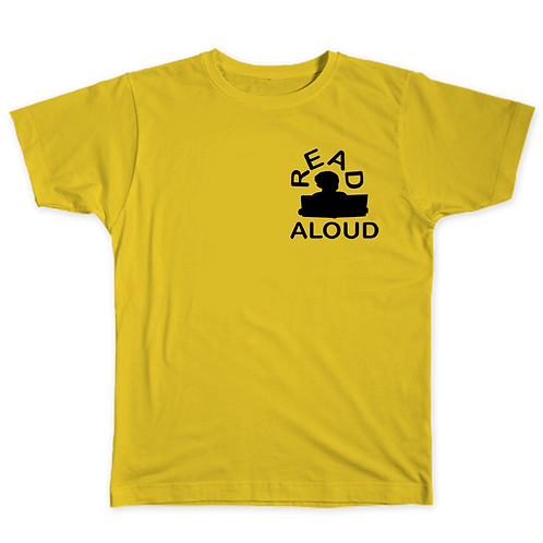 ReadAloud Yellow T-Shirt